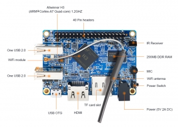 Orange Pi Lite (512Мб)