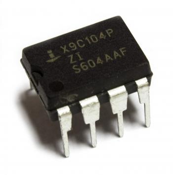 Потенциометр цифровой X9C104P (100К)