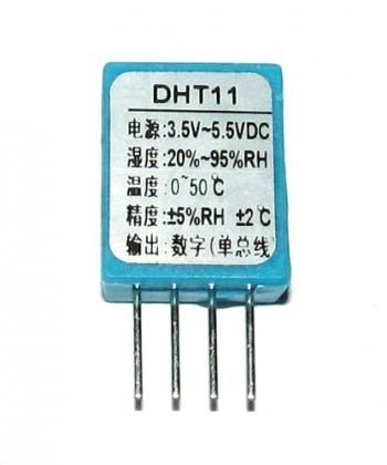 Датчик температуры и влажности DHT11
