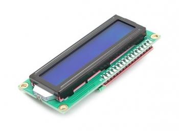 LCD дисплей LCM1602 i2c (синий)