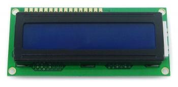 LCD дисплей LCM1602 (синий)