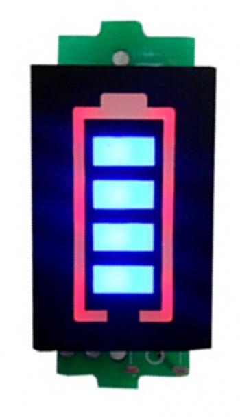 Индикатор заряда батареи 1S (4.2В)