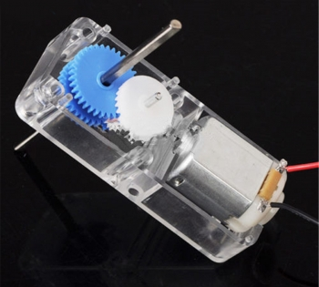 Мотор с редуктором пластик (1.5-6В)