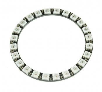 Светодиодное кольцо NeoPixel 24x WS2812