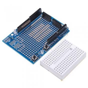 Шилд прототип V5 для Arduino UNO