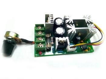 Регулятор скорости мотора ШИМ (10-60В/18А)