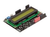 LCD Keypad Shield для Arduino с клавиатурой (зел.)