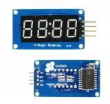 LED индикатор 4х числовой i2c TM1637