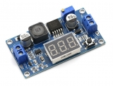 DC-DC повышающий преобразователь XL6009 с вольтметром