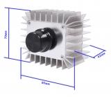Размеры радиатора
