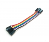 Dupont кабель 10жил 10см (мама-мама)
