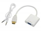 Адаптер HDMI-VGA (+аудио)