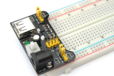 Модуль питания для макетных плат (5.5x2.1 + USB)