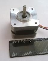 Шаговый двигатель NEMA 17 (б/у)