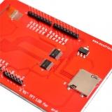"TFT LCD шилд 3.95"" c сенсорным экраном и MicroSD"