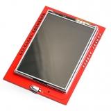 """TFT LCD шилд 2.2"""" c сенсорным экраном и MicroSD (ili9341)"""