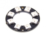 Светодиодное кольцо NeoPixel 8x WS2812B