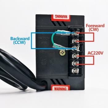 Регулятор скорости мотора 220В до 400Вт с таходатчиком