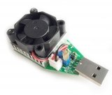Нагрузочный резистор USB с вентилятором