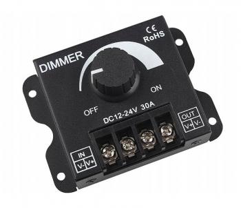 Регулятор мощности DC (диммер) 12-24В/30А