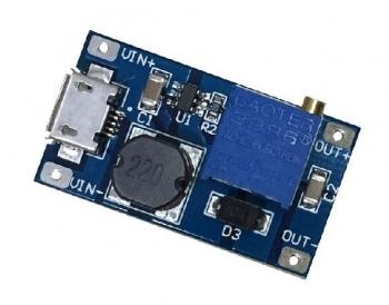DC-DC повышающий преобразователь с USB-Micro входом