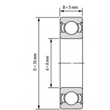 Подшипник 688ZZ (8*16*5мм)