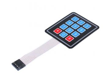 Клавиатура мембранная 3x4