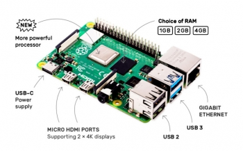 Raspberry Pi 4 (2Гб)