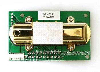 Датчик PIR углекислого газа CO2 MH-Z14