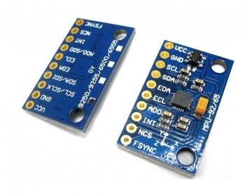 MPU9250 9-осевой датчик 3D положения