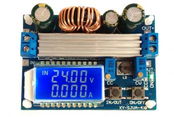 DC-DC универсальный преобразователь CC/CV c дисплеем