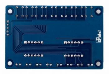 Модуль клавиатуры и индикации LED&KEY TM1638