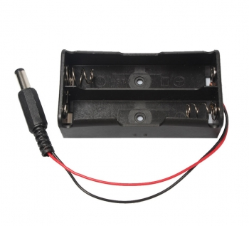 Батарейный отсек 2*18650 с штекером 5.5/2.1