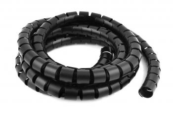 Бандаж кабельный SWB-08 спиральный черный