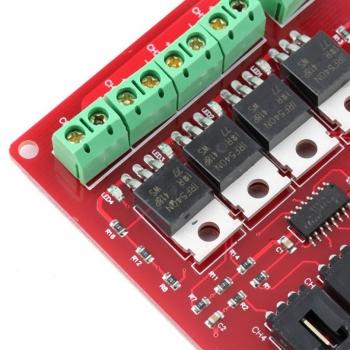 Модуль IRF540 MOSFET 4 канала