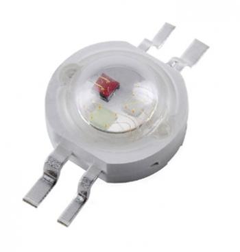 Светодиод RGB 3Вт 4pin