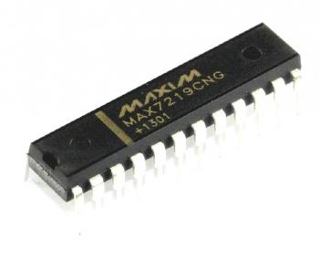 Драйвер MAX7219CNG+ DIP