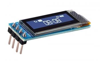 """OLED графический дисплей 0.91"""" (128x32, I2C)"""