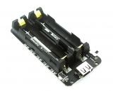 Плата зарядки 18650x2 для RPi, ESP32