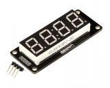 """LED индикатор 0.56"""" 4х числовой TM1637 белый"""