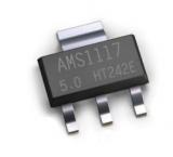 Линейный стабилизатор AMS1117 5.0В SMD