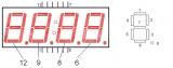 """LED индикатор 4-х числовой 0.56"""""""