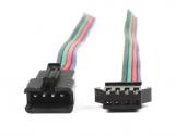Разъем JST-SM 4pin с кабелем