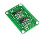 LED индикатор 2х числовой 74НС595