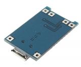 Модуль ЗУ для Li-Ion с защитой (TP4056)