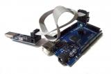 Подключение программатора к MEGA2560 ICSP через переходник
