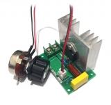 Регулятор мощности (диммер) 220В/4000Вт с вын.п.