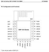 WiFi модуль ESP8266 ESP-12E