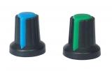 Ручка для потенциометра 6мм (зел.)