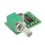 Стерео усилитель мини c потенциометром (PAM8403)